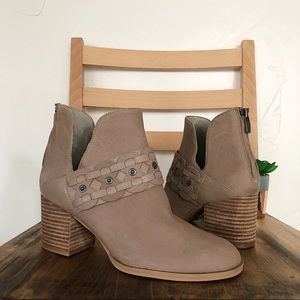 NINE WEST Leather Danbia Booties